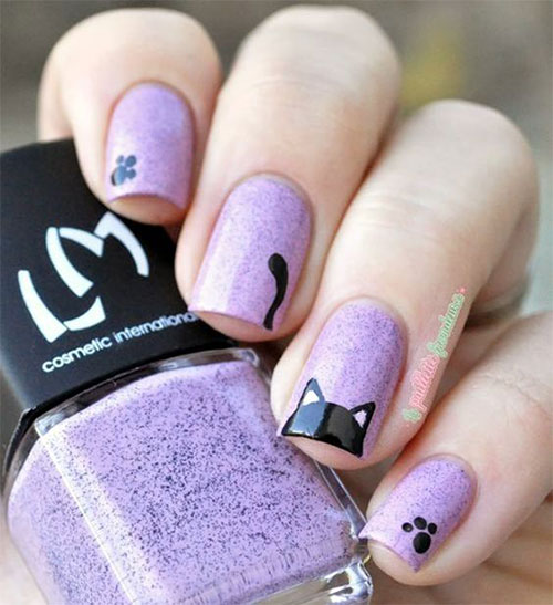 Halloween-Cat-Nails-Art-Designs-Ideas-2019-4