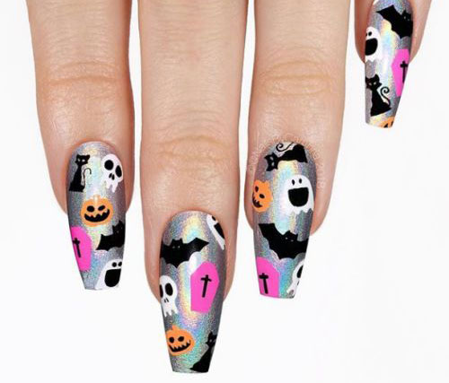 Halloween-Coffin-Nails-Art-Designs-Ideas-2019-10