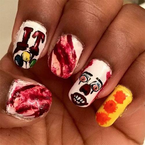 Halloween-Creepy-Clown-Nails-Art-2019-1