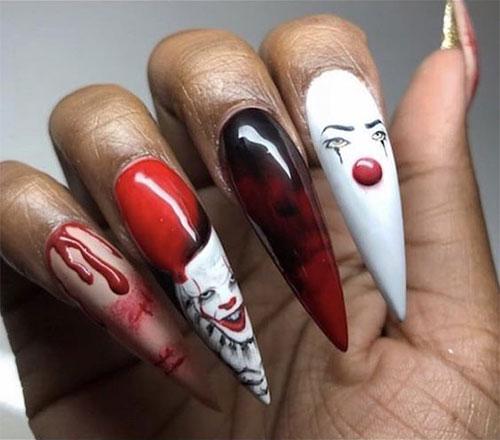 Halloween-Creepy-Clown-Nails-Art-2019-12