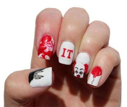 Halloween-Creepy-Clown-Nails-Art-2019-16
