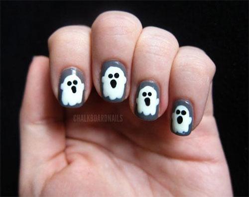 Halloween-Ghost-Nails-Art-Designs-Ideas-2019-1