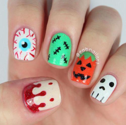 Halloween-Ghost-Nails-Art-Designs-Ideas-2019-10