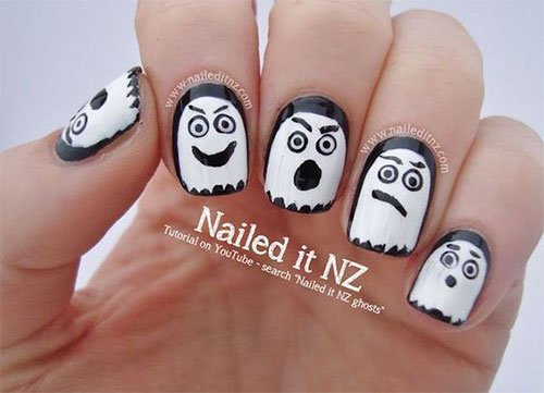 Halloween-Ghost-Nails-Art-Designs-Ideas-2019-12