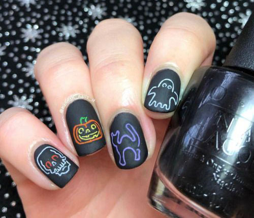 Halloween-Ghost-Nails-Art-Designs-Ideas-2019-15