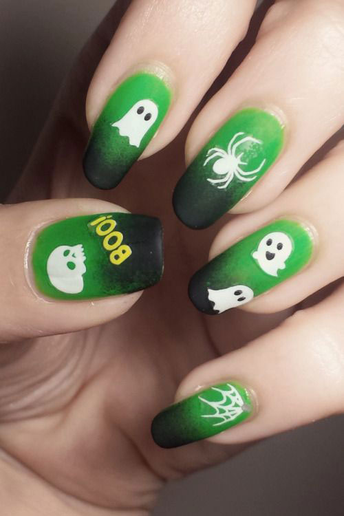 Halloween-Ghost-Nails-Art-Designs-Ideas-2019-18