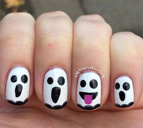 Halloween-Ghost-Nails-Art-Designs-Ideas-2019-2