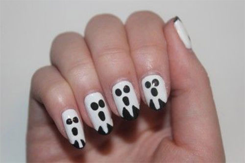Halloween-Ghost-Nails-Art-Designs-Ideas-2019-6