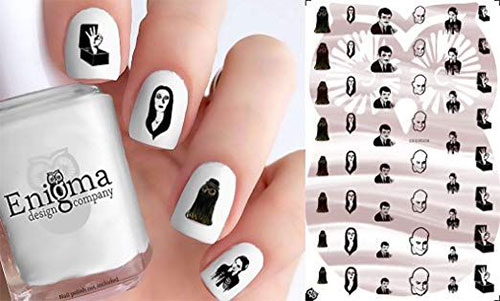 Halloween-Nails-Art-Stickers-Decals-2019-1