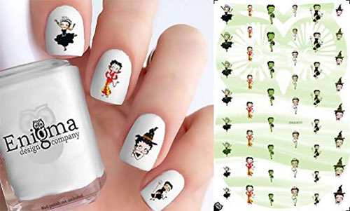 Halloween-Nails-Art-Stickers-Decals-2019-2