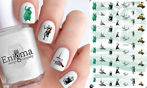 Halloween-Nails-Art-Stickers-Decals-2019-4