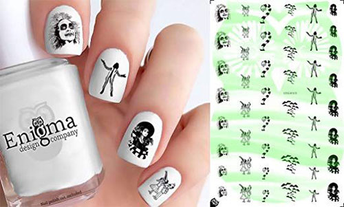 Halloween-Nails-Art-Stickers-Decals-2019-5