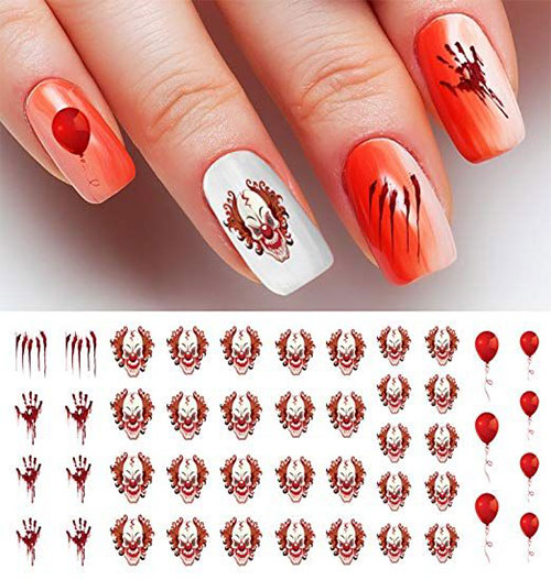 Halloween-Nails-Art-Stickers-Decals-2019-6