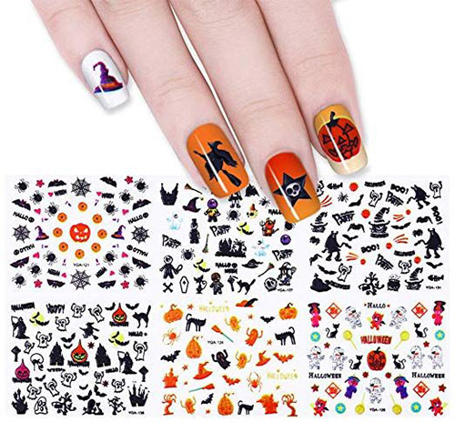 Halloween-Nails-Art-Stickers-Decals-2019-8