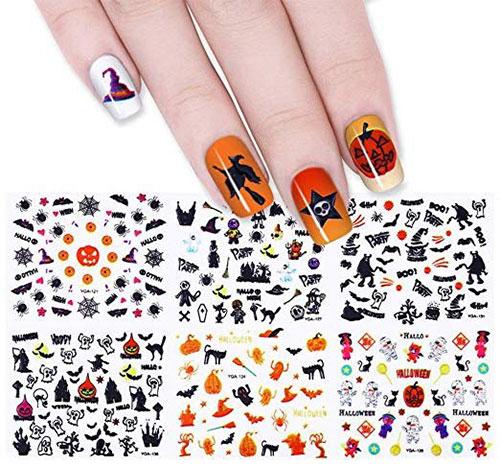 Halloween-Nails-Art-Stickers-Decals-2019-8