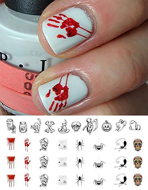 Halloween-Nails-Art-Stickers-Decals-2019-9