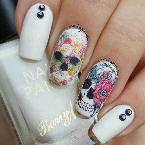 Halloween-Skull-Nails-Art-Designs-2019-1