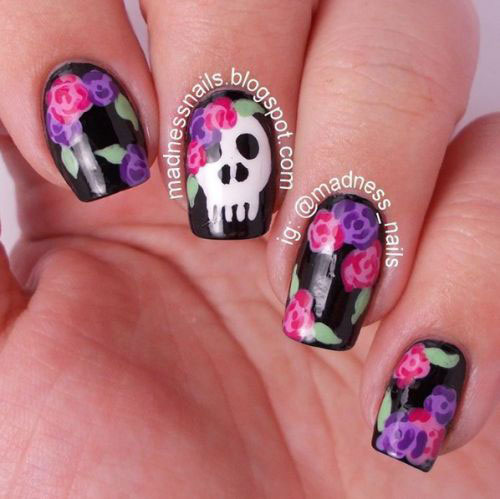 Halloween-Skull-Nails-Art-Designs-2019-11