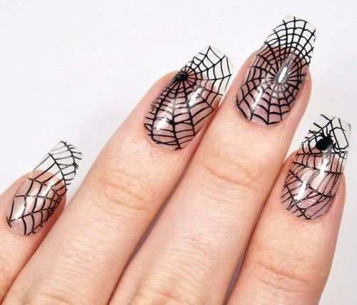 Halloween-Spider-Nail-Art-Designs-2019-Spider-Web-Nails-15