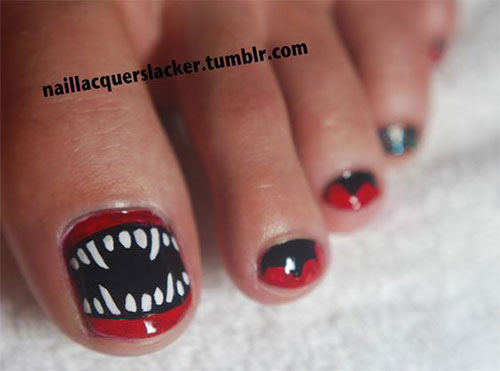 Halloween-Toe-Nails-Art-Designs-2019-6