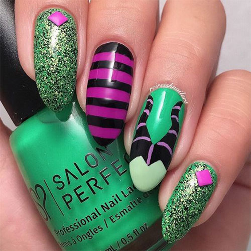Maleficent-Nail-Art-Designs-Ideas-Trends-2019-Maleficent-Nails-1