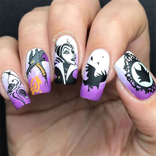 Maleficent-Nail-Art-Designs-Ideas-Trends-2019-Maleficent-Nails-10
