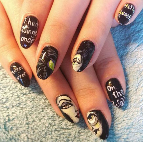 Maleficent-Nail-Art-Designs-Ideas-Trends-2019-Maleficent-Nails-11