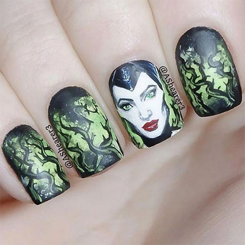 Maleficent-Nail-Art-Designs-Ideas-Trends-2019-Maleficent-Nails-12