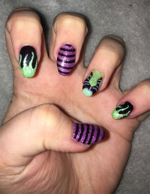 Maleficent-Nail-Art-Designs-Ideas-Trends-2019-Maleficent-Nails-13