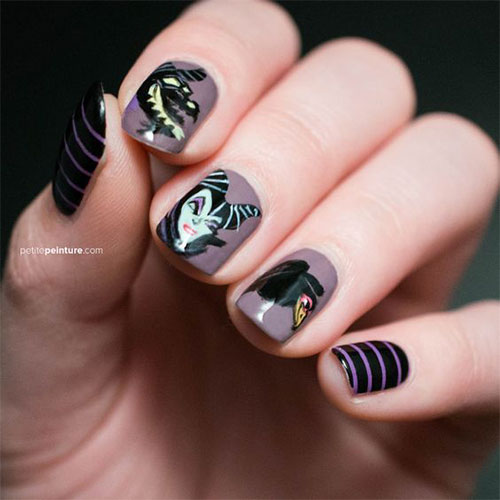 Maleficent-Nail-Art-Designs-Ideas-Trends-2019-Maleficent-Nails-15