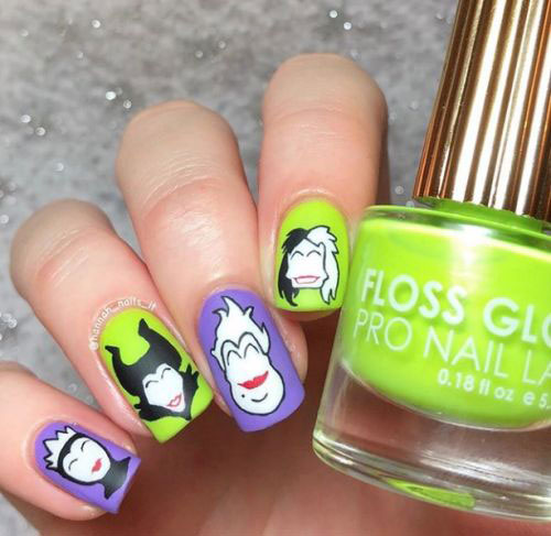 Maleficent-Nail-Art-Designs-Ideas-Trends-2019-Maleficent-Nails-16