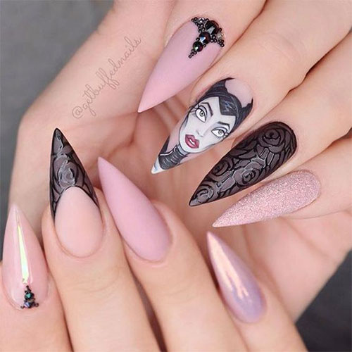 Maleficent-Nail-Art-Designs-Ideas-Trends-2019-Maleficent-Nails-17