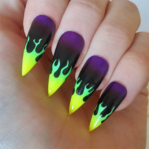 Maleficent-Nail-Art-Designs-Ideas-Trends-2019-Maleficent-Nails-2