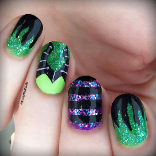 Maleficent-Nail-Art-Designs-Ideas-Trends-2019-Maleficent-Nails-20