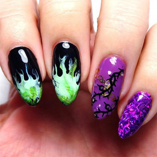 Maleficent-Nail-Art-Designs-Ideas-Trends-2019-Maleficent-Nails-3