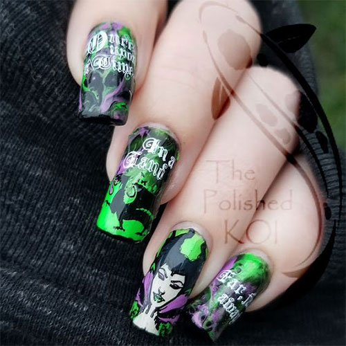 Maleficent-Nail-Art-Designs-Ideas-Trends-2019-Maleficent-Nails-6