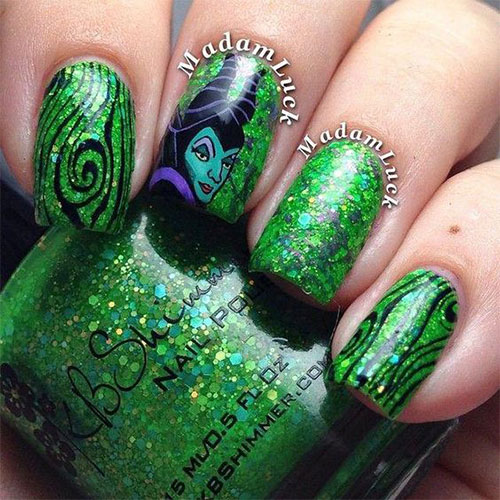 Maleficent-Nail-Art-Designs-Ideas-Trends-2019-Maleficent-Nails-7