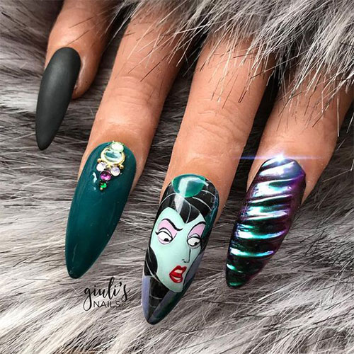 Maleficent-Nail-Art-Designs-Ideas-Trends-2019-Maleficent-Nails-9