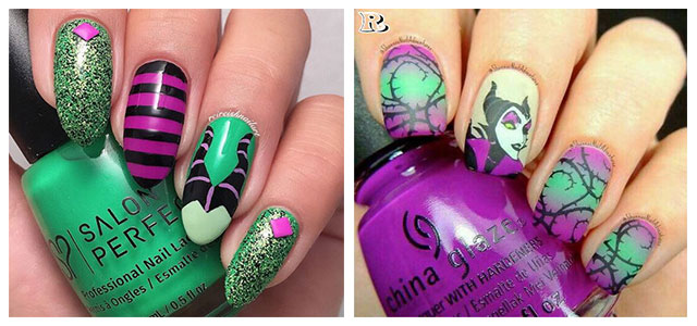 Maleficent-Nail-Art-Designs-Ideas-Trends-2019-Maleficent-Nails-F