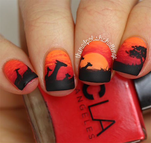 The-Lion-King-Nail-Art-Designs-Ideas-Trends-2019-The-Lion-King-Nails-18