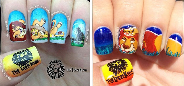 The-Lion-King-Nail-Art-Designs-Ideas-Trends-2019-The-Lion-King-Nails-F