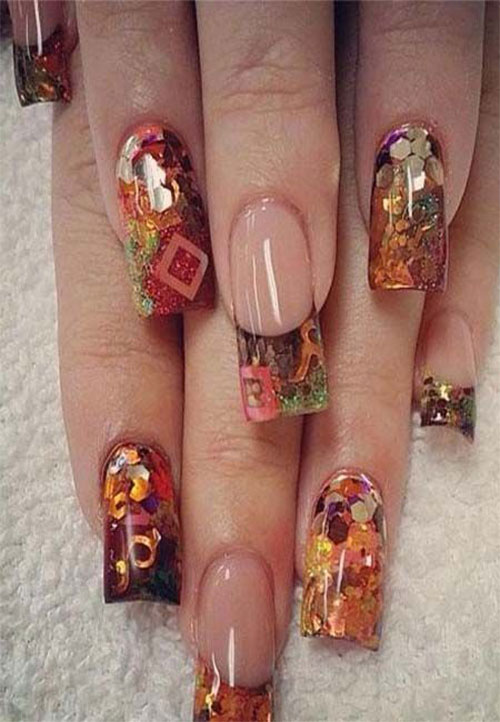 Autumn-Acrylic-Nail-Art-Designs-2019-Fall-Nails-2