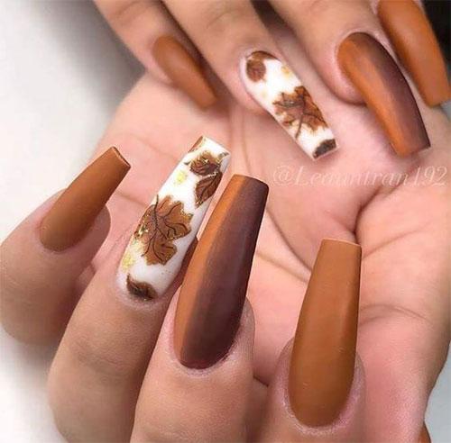 Autumn Acrylic Nail Art Designs 2019 / Fall Nails