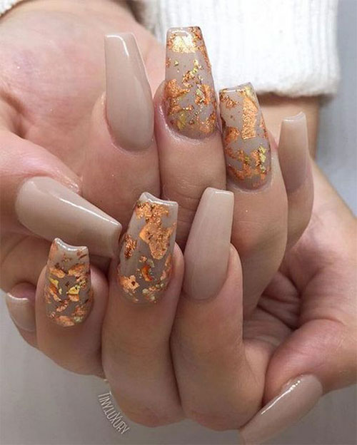 Autumn-Acrylic-Nail-Art-Designs-2019-Fall-Nails-7