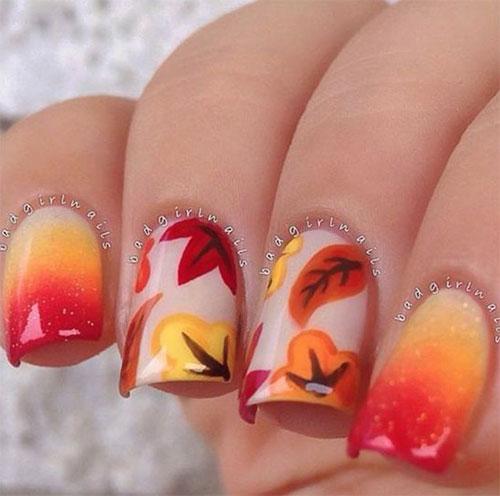Autumn-Gel Nail-Art-Designs-2019-Fall-Nails-10
