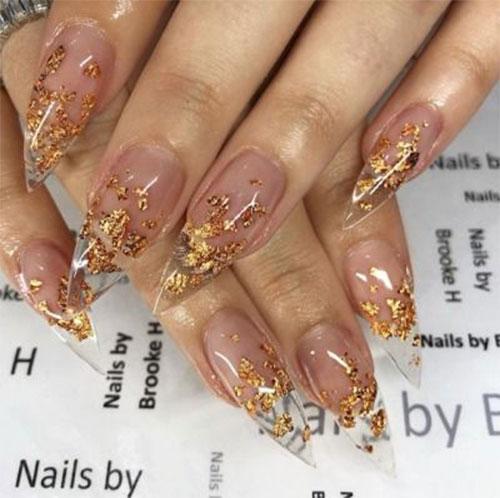 Autumn-Gel Nail-Art-Designs-2019-Fall-Nails-11