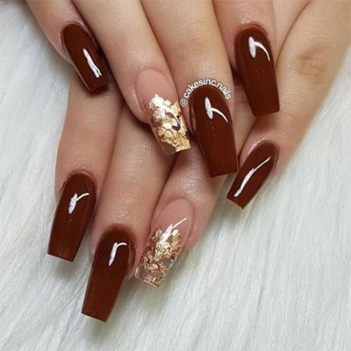 Autumn-Gel Nail-Art-Designs-2019-Fall-Nails-15