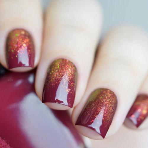 Autumn-Gel Nail-Art-Designs-2019-Fall-Nails-2