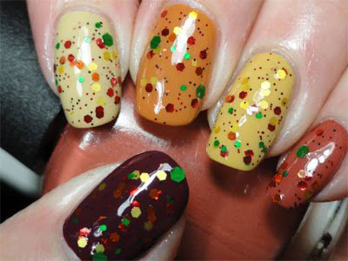Autumn-Gel Nail-Art-Designs-2019-Fall-Nails-5