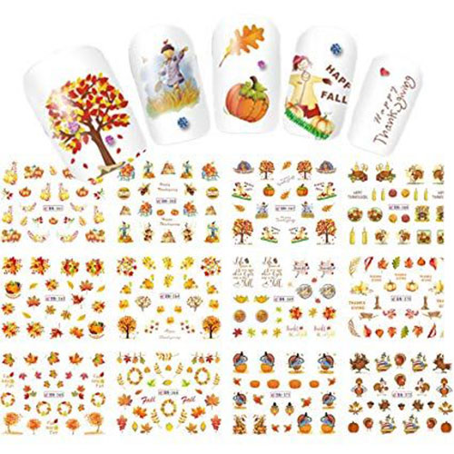 Autumn-Nail-Art-Stickers-Decals-2019-11